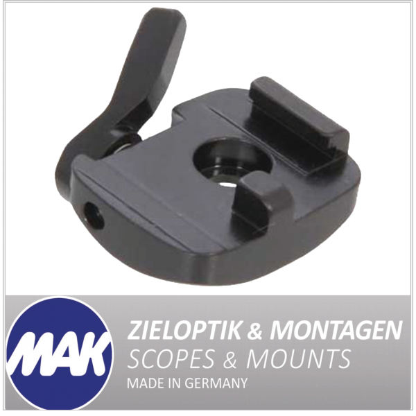 MAKlassic Adapter fuer original Steyr-Hinterplatte